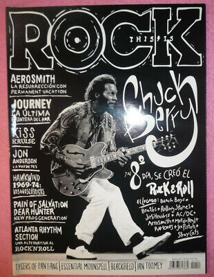This Is Rock 151 Chuck Berry Jouerney Kiss Jon Anderson R