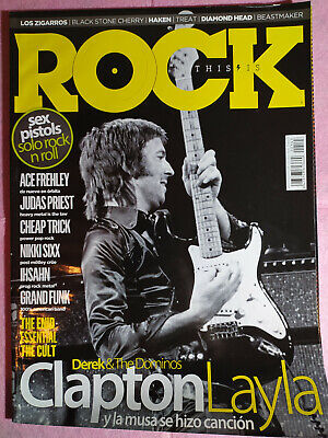 This Is Rock 143 Eric Clapton Sex Pistols The Cult Ace Frehley R