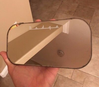 Vintage Dodge Auto Parts Mirror Part
