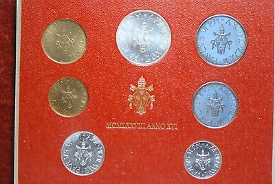 Vatican City, 1978 (7 Coin) Mint Set, Reserve,                             mab18