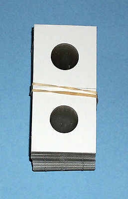 500 Nickel Size 2X2 Cardboard/Mylar Coin Holders Flips-Premium Quality