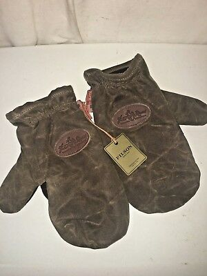 New With Tags Frost River Made In Usa Waxed Canvas Northern Pacific Mittens Xl
