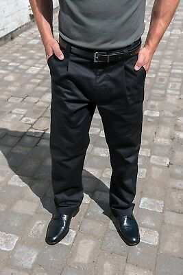 CLEARANCE New Mens RTY Workwear Chino Trousers. Navy M waist L leg x 20 items.