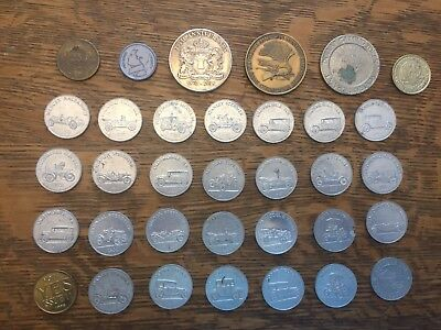 Gambling Tokens And 27 Sunoco Car Coins