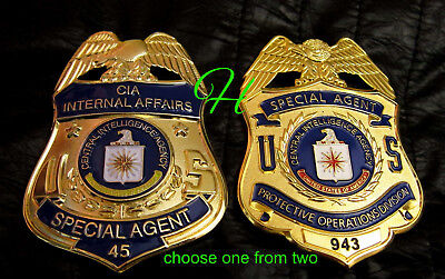 gß/ Historisches badge + choose CIA Internal Affairs or Protective Operat ....