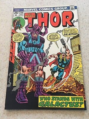 The Mighty Thor  226  VF-  7.5   Galactus  Firelord   Hercules   Infinity War