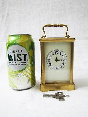 Antique French Small Carriage Clock