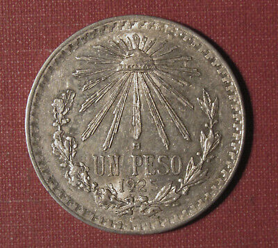 1925 Mexico Peso - Very High Grade Coin In Great Shape! Please View