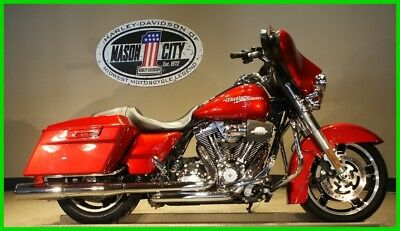 Touring  2012 Harley-Davidson FLHX Street Glide Ember Red Sunglo WATCH OUR VIDEO!