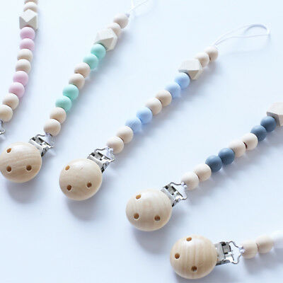 Baby Newborn Girls & Boys Pacifier Clip Chain Straps Dummy Soother Nipple Holder