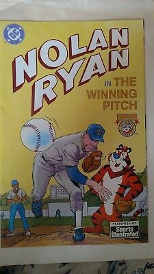 NOLAN RYAN The Winning Pitch DC Comic by Sports Illustrated with Tony the Tiger