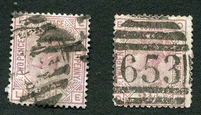 Stamp Lot Of Great Britain, Scott #67, Plates 13,16 ($60 Each)