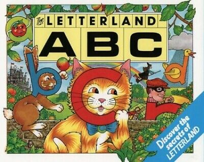 ABC (Letterland) by Wendon, Lyn Hardback Book The Cheap Fast Free Post
