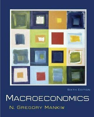 Macroeconomics by Mankiw, N. Gregory Hardback Book The Cheap Fast Free Post