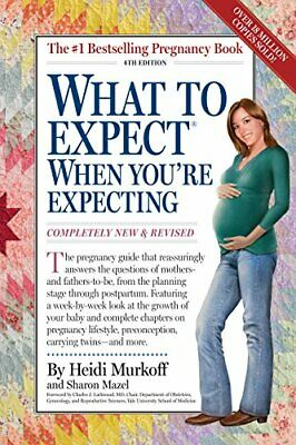 What to Expect When You're Expecting by Mazel, Sharon Book The Cheap Fast Free