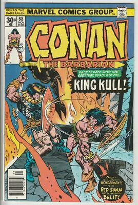 Conan the Barbarian # 68 Strict NM Appearance Red Sonja, Belit