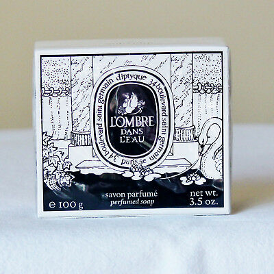 Diptyque L'Ombre Dans L'Eau Bar of Soap 100 g Brand New and Sealed