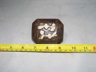 Antique  Ming Dynasty Dish And Cover, 17Th Century
