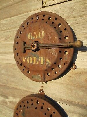 Antique Cutler Hammer Speed Control Rheostat Steampunk Elevator Movie Prop Art