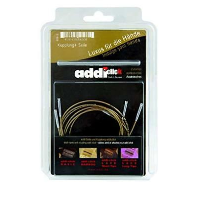 Addi Click Cords and Connector, Set of 3