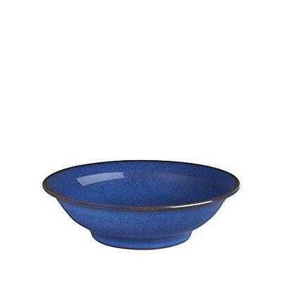 Denby 13 cm Imperial Small Shallow Bowl, Blue