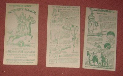 22 different Nabisco Straight Arrow Injun-uities Cards Book 3 1951