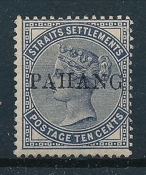 [35703] Straits Settlement Pahang Good old stamp Very Fine MH signed
