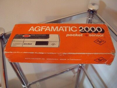 Vintage AGFAMATIC 2000 Camera & Original Box - Bargain Collectable!