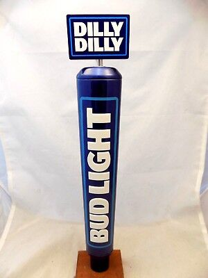 """Rare Never Used BUD LIGHT Dilly DIlly Beer Tap Handle 14"""""""