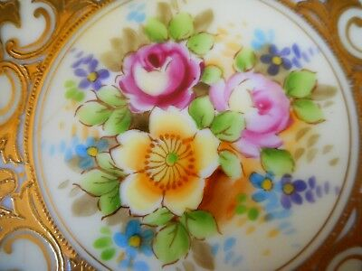 Beautiful Japanese Plate By Meito China ~ A Stunning Display Item !
