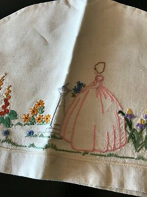 Vintage Embroidered Toaster Cover