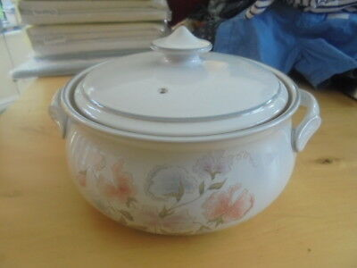 BN Denby Encore round serving bowl casserole dish with lid