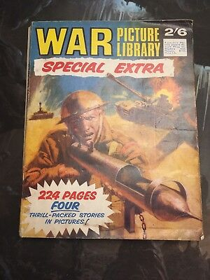 War Picture Library Special Extra.  1968  fleetway publications.