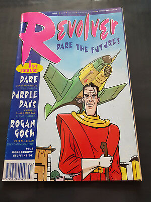 Revolver comic book. Issue 1 by The 2000 AD Comics group. For mature readers