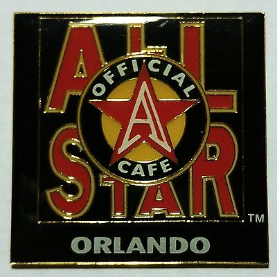 Vintage All-Star Cafe Orlando Metal Enameled Collector's Pin No Reserve