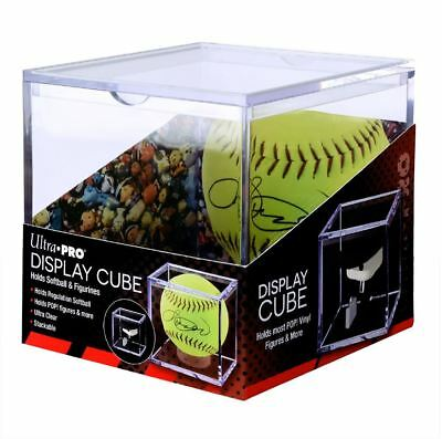 Ultra Pro Softball Holder or Figurine Display Cube Protective Storage Case