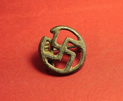 Ancient Roman Fibula or Brooch, 2. Century, Rare Type!