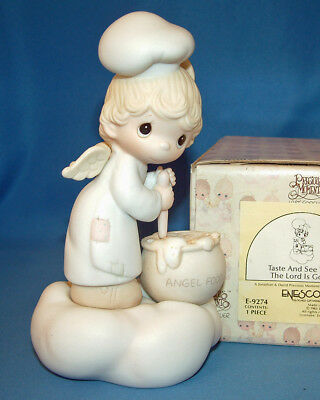 Precious Moments Figurine - pm E9274, Taste And See That The Lord Is Good w/box