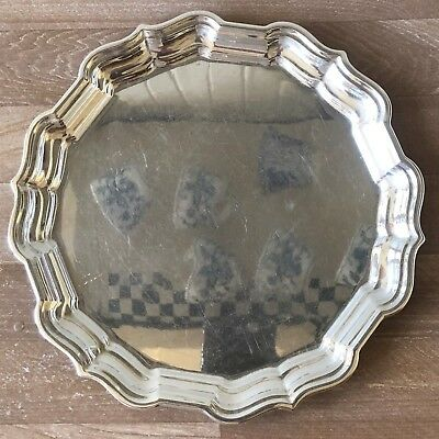 Superb Frank Smith Chippendale Sterling Silver Saler or Tray