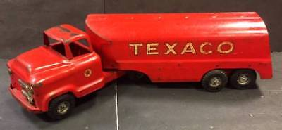1950's BUDDY L Pressed Steel TEXACO Tanker Truck by Moline Corp, NR
