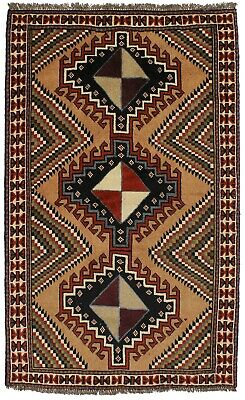 Original Handmade Rare Tribal Ghoochan Persian Wool Rug Oriental Area Carpet 4X7