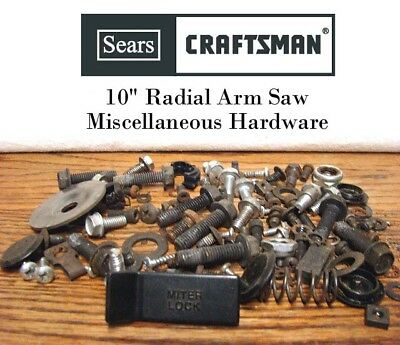 SEARS CRAFTSMAN 113 Radial Arm Saw Miscellaneous Hardware