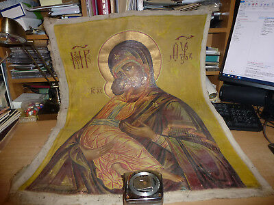 Unique 1945 Russian Icon Saved From Cossack Betrayal Massacre In Lienz Austria