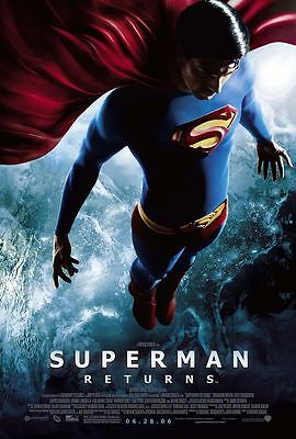 "SUPERMAN RETURNS 2006 Original DS 2 Sided 27x40"" US Movie Poster Brandon Routh"