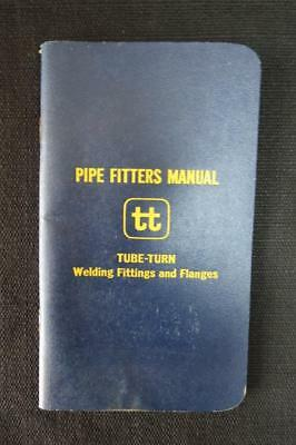 Vintage Pipe Fitters Manual Welding Fittings and Flanges 1960's