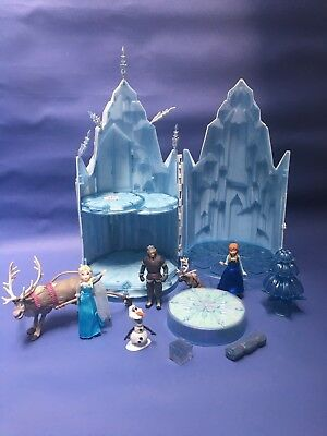 Disney Frozen Ice Palace  Light Up Musical Singing Castle & figures