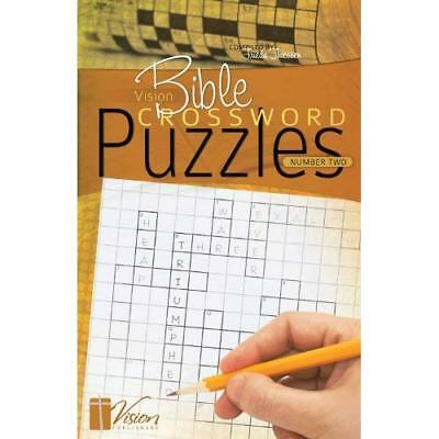 VISION BIBLE CROSSWORD PUZZLES NUMBER T - Paperback NEW FRIEDA THIESSEN 2013-10-