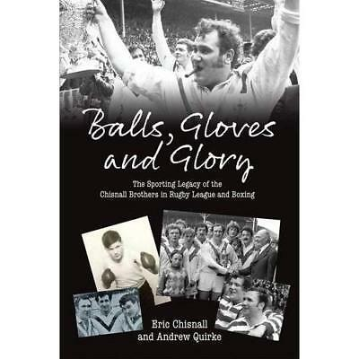 Balls, Gloves and Glory: The Sporting Legacy of the Chi - Paperback NEW Chisnall