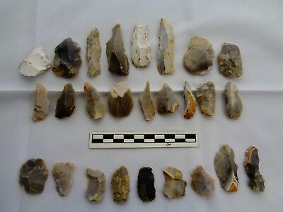 Interesting Flint Group of Tools from Dorset