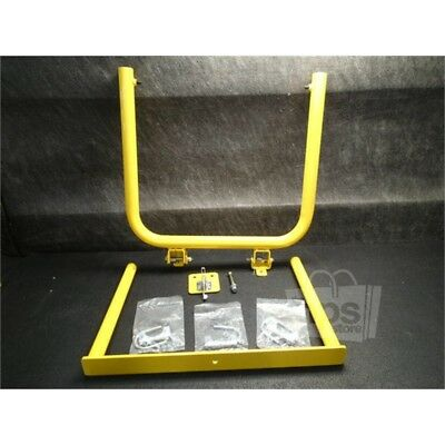 "Yellow Safety Gate Adjustable Width 23"" - 34"", 22"" Height"